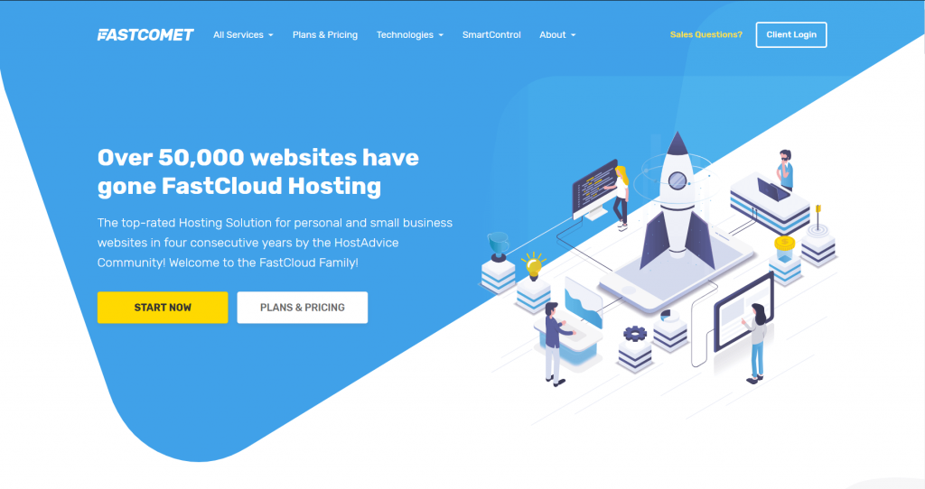 fastcomet cloud hosting