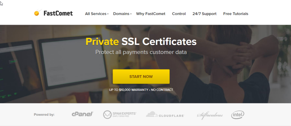 FastComet Review- Free SSL Certificates