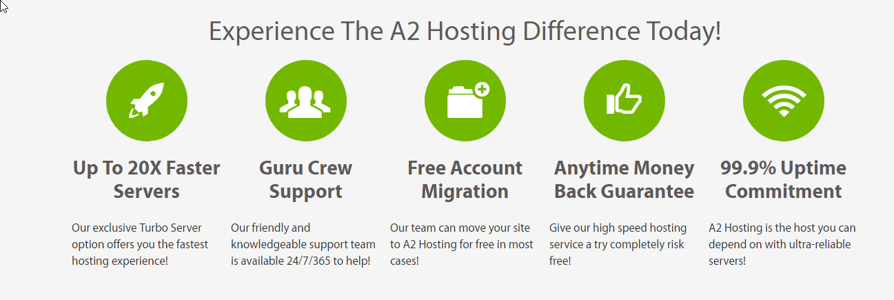 a2hosting difference