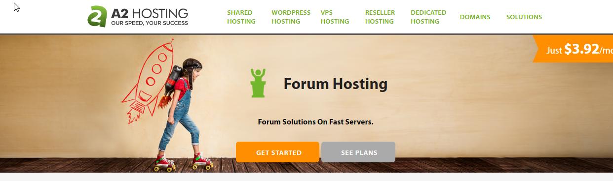 A2Hosting Forum Hosting