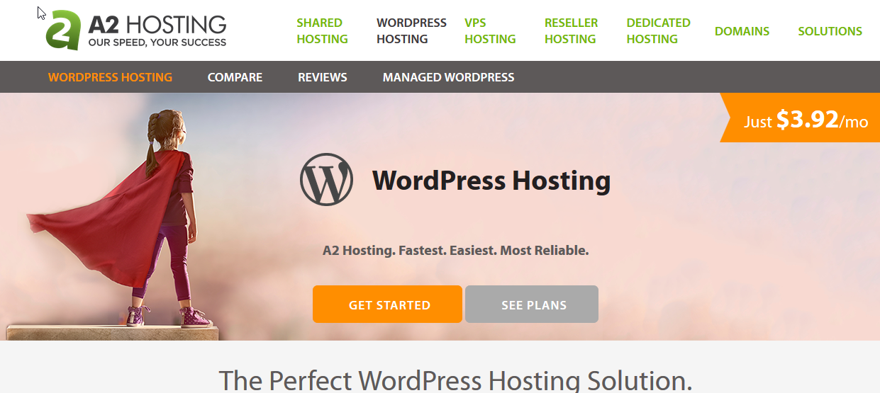a2hosting WordPress Hosting