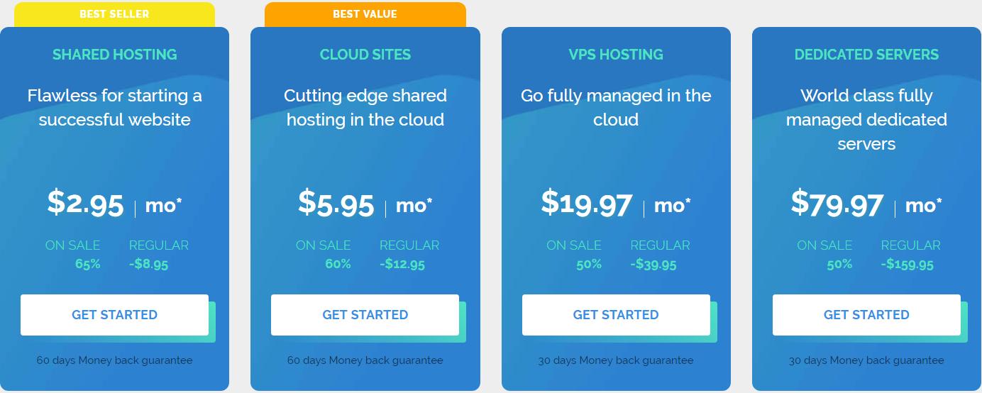 worpress hosting pricing