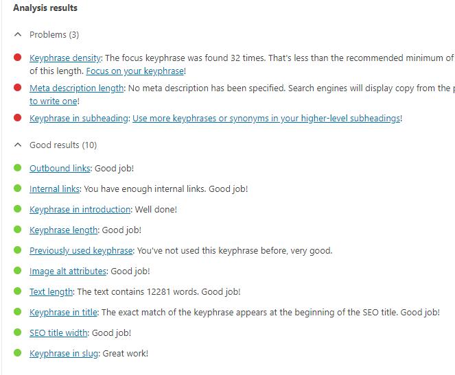optimize blog posts for seo