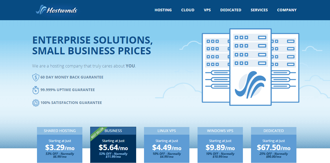 hostwinds cheap web hosting