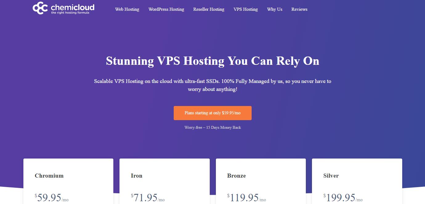 chemicloud vps hosting