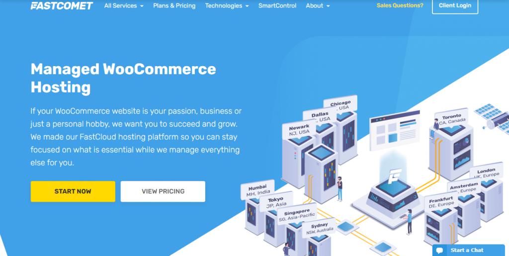 online store-get woocommerce hosting