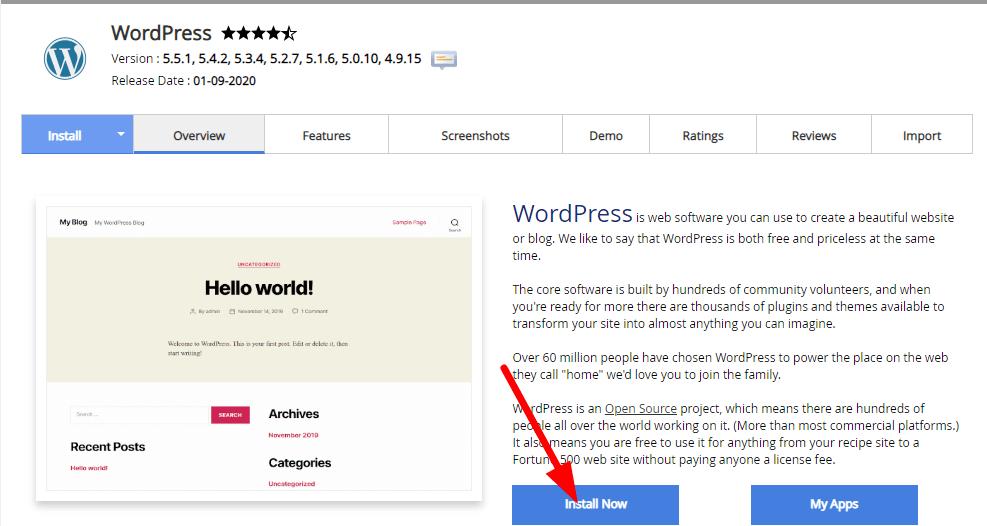 start online store-set wordpress
