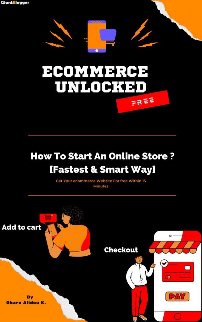 Start online store free e-book